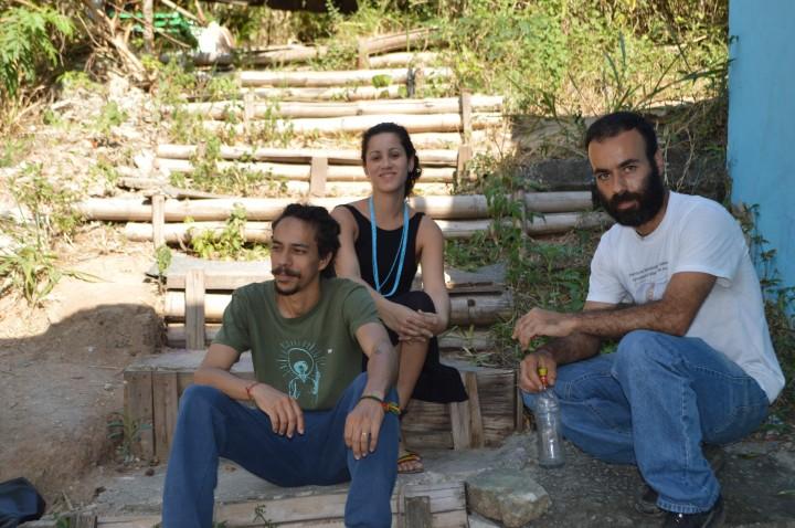 CEM. Foto Raize Souza - Da esquerda para a direira Wallace Bidu, Silvana Coelho e Rafael Maia - 6