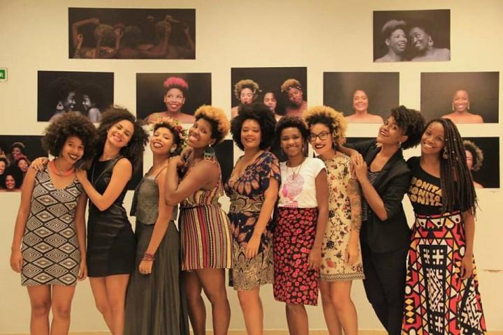Meninas Black Power Seminário Internacional Encrespando por Meninas Black Power - PUC RJ Foto: Thales de Lima