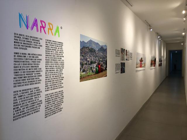 A NARRA, agência escola de jornalismo do Observatório, inaugurou exposição fotográfica na Galeria 535