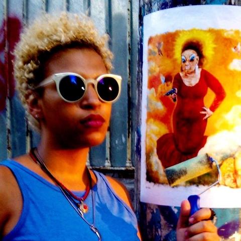 Elis Pinto - Moradora de Duque de Caxias - Escritora e artista visual