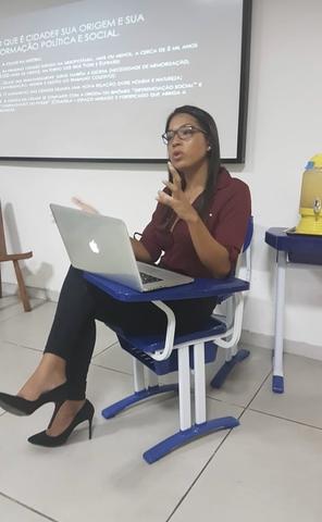Mariah Rafaela Silva - Moradora de Engenho da Rainha - Pesquisadora e ativista pelos Direitos Humanos
