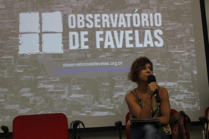 Raquel Willadino, diretora do Observatório de Favelas