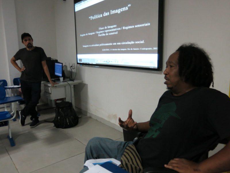 Da esquerda para direita, Francisco Valdean e Bira Carvalho, coordenadores do Imagens do Povo